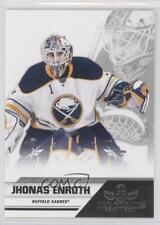 2011-12 Panini All Goalies Box Set Base Up Close 12 Jhonas Enroth Buffalo Sabres