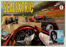 Scalectrix 1966 vintage Print..FREE POSTAGE for UK