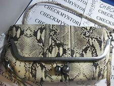 NEW NWT Jessica Simpson  Tiffany Fold Over Clutch DESIGNER BAG