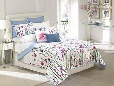 Queen Quilt 3 Piece Bedspread with 2 pillow sham Coverlet Set