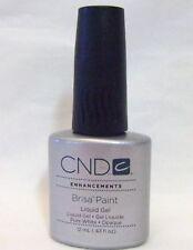 CND Creative Nail Brisa Gel PURE WHITE PAINT .43oz/12ml