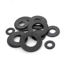 30pcs Carbon Steel Black 8.8 Class Flat Washer for Screw M3/M4/M5/M6/M8/M10/M12
