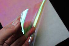 6 pcs 10X21cm 3 Colors Film Flash Artificial Fish Skin Jig Sticker Lure sticker
