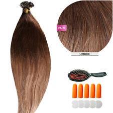 Keratin Bonding (#4/27 Ombre Hair Extensions 100% Remy Echthaar Haarverlängerung