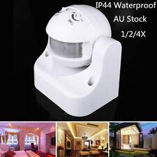 1/2/4X PIR Motion Sensor Detector Infrared Home 180° Light Control Switch 240V