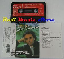 MC JOSE CARRERAS Love is PHILIPS 412 270-4 ROBERT FARNON 1984 no cd lp dvd vhs
