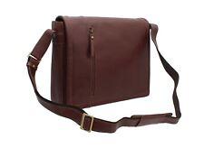 Visconti Enzo Vintage Tan Leather Laptop Bag VT5