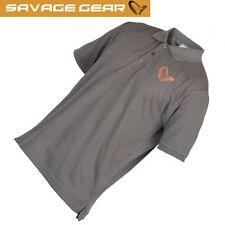 Savage Gear Simply Savage Polo - Poloshirt, Anglershirt, Angelshirt, T-Shirt
