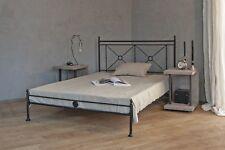 metallbett 140 x 200 cm mit zeitlosem design  inkl. lattenrost