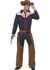 Da Uomo Selvaggio West Costume Cowboy Rodeo