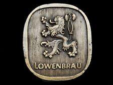 NA15140 VINTAGE 1970s ****LOWENBRAU**** BEER BELT BUCKLE