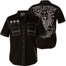 AFFLICTION Hemd Ruminate Schwarz Hemden