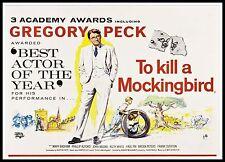 To Kill A Mockingbird 5  Poster Greatest Movies Classic & Vintage Films