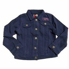 Chipie chaqueta Indigo azul rückenprint perro Pink vintage talla 98 104 110 116 nuevo