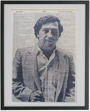 Pablo Escobar Print No.352, escobar poster, dictionary wall art
