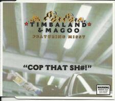 TIMBALAND & MAGOO w/ Missy Elliott Cop that INSTRUMENTAL & ACAPPELA CD Single