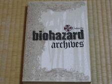 BIOHAZARD ARCHIVES UMBRELLA CAPCOM BOOK 2010 JAPAN GAME RESIDENT EVIL ZOMBIE z