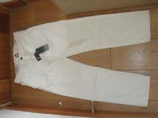 Tommy Hilfiger Creme natürliche Relaxed Cropped creme Jeans 28 Bund UK 10 S NEU