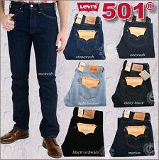 Levis 501® Jeans Herren Hose-Farbauswahl - Orig & Neu