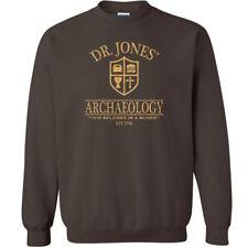 492 Dr. Jones Archaeology Crew Sweatshirt 80s movie costume party Indiana temple
