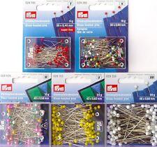 Premium Quality Prym Glass-Headed & Pearl-Headed Pins