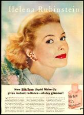 1958 VINTAGE AD für Helena Rubenstein Seide Ton Makeup