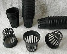 "5cm/2"" vasi di Mesh 10x, 25x, 50x, 100x coltura idroponica & aeroponica, Acquario NET POT"