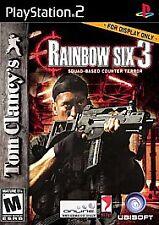 Tom Clancy's Rainbow Six 3 (Sony PlayStation 2, 2004) BLACK LABEL COMPLETE
