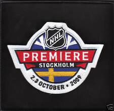 NHL PREMIERE STOCKHOLM PATCH DETROIT RED WINGS ST.LOUIS BLUES 2009/2010 SWEDEN