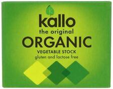 Kallo Organique Légumes Stock Cubes 66 g
