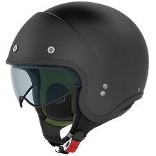 NOLAN N21 DURANGO OPEN FACE CLASSIC Motorcycle Motorbike Helmet MATT FLAT BLACK