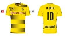 Trikot Puma Borussia Dortmund 2017-2018 Home - Götze 10 [128-XXL] BVB Fussball