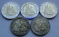 Duitsland speciale 2 euro 2012 Bayern / Beieren A-D-F-G-J UNC
