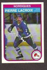 1982-83 OPC Hockey Pierre Lacroix #286 Nordiques NM/MT