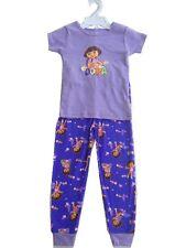 Dora Pajamas 2 pcs Set Baby Toddler Kid's Girls Sleepwear The Explorer purple