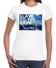 SLAVE TO THE RAVE WOMEN'S T-SHIRT - Ibiza Dubstep Drum & Bass Clubwear