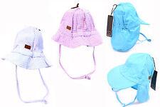 MELTON Kinder Mütze Gr 45-49 Frühling / Sommer Baby Hut UV-Schutz 30+ Blende NEU