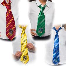 Harry Potter Tie Kids Fancy Dress Hogwarts Uniform Book Day Costume Accessory
