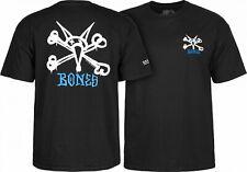 Rat Bones Skateboard Skate Skull Powell Peralta T-Shirt BLACK Skull OG M L XL