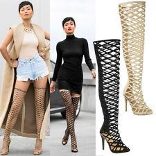 damen damenstiefel overknees overknee stiletto heels schuhe sandalen größe