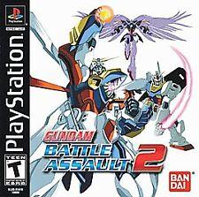 ***GUNDAM BATTLE ASSAULT 2 PS1 PLAYSTATION 1 DISC ONLY~~~