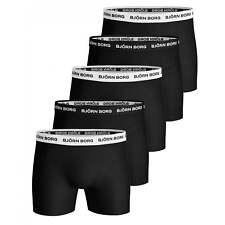 Bjorn Borg 5-Pack Classic Logo Men's Boxer Trunks, Black