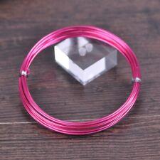 1Roll Peach 18/15/12gauge 1.0/1.5/2.0mm Soft Aluminium Craft Wire Metal Cord