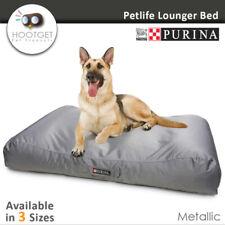 Petlife Lounger Metallic - Heavy Duty Waterproof Pet Puppy Dog  Mattress Bed Mat