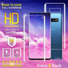 Samsung Galaxy S10 S10+ S10E S8 S8+ S9 S9+ Plus FULL Coverage Screen Protector