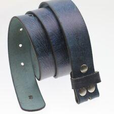 Ledergürtel Echtleder Petrol Blau Rindsleder für 4 cm Wechselschließen LG16