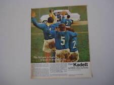 advertising Pubblicità 1964 OPEL KADETT 1000
