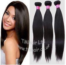 100% Brasiliano / PERUVIANO Virgin HUMAN REMY Naturale Trama estensioni capelli