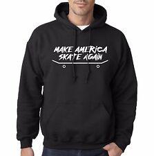 Make America Skate Again Hoodie Donald Trump parody funny skate or die vans joke