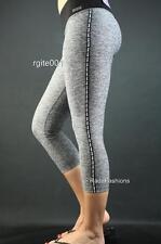 c3c6213673 Victoria's Secret PINK Ultimate Yoga Crop Legging Pant Marl Sport NWT